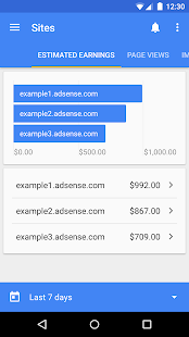 Google AdSense Screenshot 2