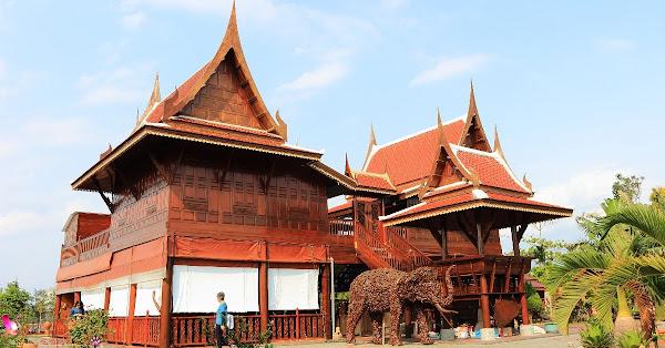 泰國南洋風高腳屋景觀餐廳