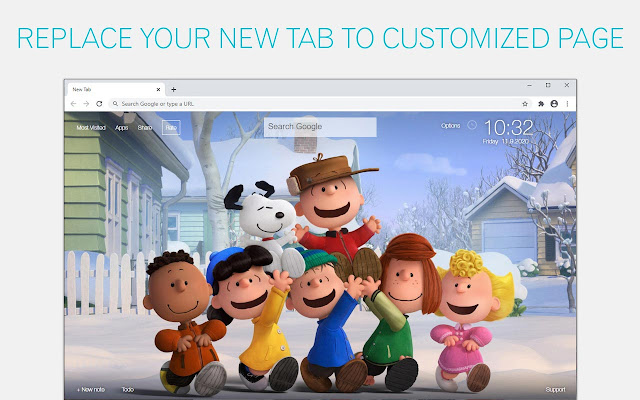 The Peanuts Movie Wallpapers HD Custom NewTab
