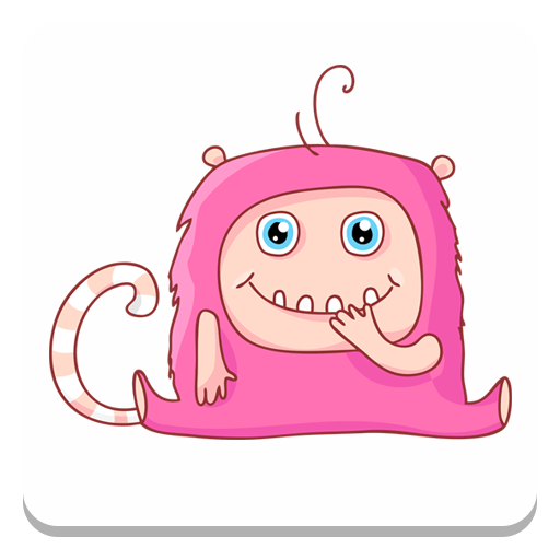 Sticker Set: Funny Monsters