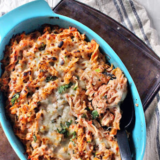 Protein Packed Healthy Baked Ziti Made with Banza Pasta Recipe