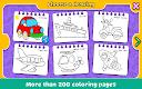 screenshot of Coloring & Learn