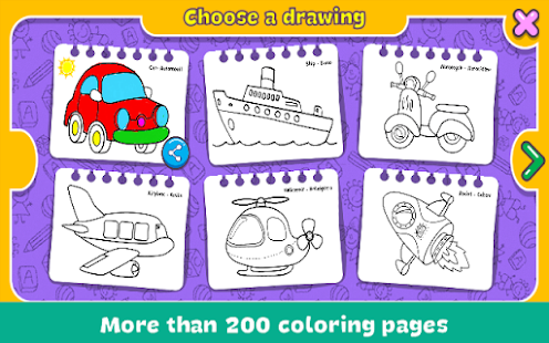 Game Coloring & Learn APK for Windows Phone