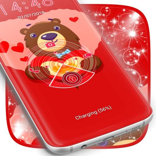 Lock Screen Valentine Theme