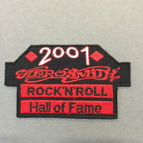 Aerosmith - Rock N Roll Hall of Fame - Tygmärke