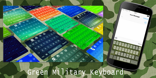 Green Military Keyboard