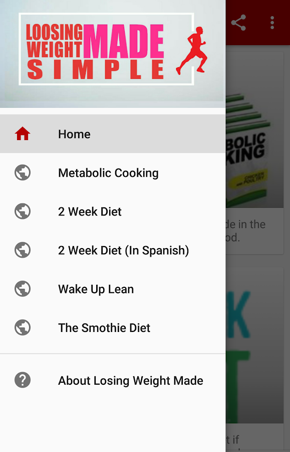 Losing Weight Made Simple- screenshot