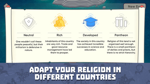 God Simulator. Sandbox strategy game Religion Inc. apkpoly screenshots 4