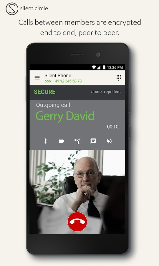 Silent Phone - private calls- screenshot