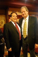Photo: Luis Haza (AYPO Music Director Emeritus), Daniel Spalding (new AYPO Music Director)