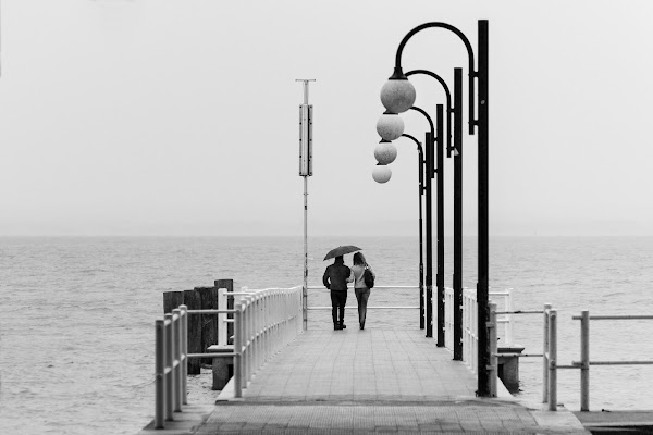 Al pontile di Francesco_Segantini