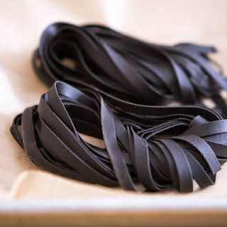 Squid Ink Fresh Pasta.