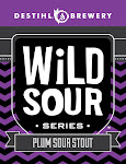 DESTIHL Wild Sour Series: Plum Sour Stout