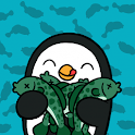 Penguins Fish Party icon