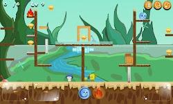 screenshot of Two Player : Fireball And Waterball Adventure