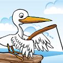 Bird Fishing icon