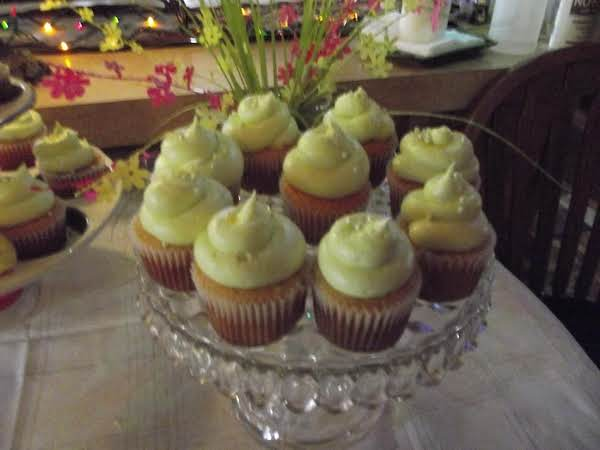 Margarita Cupcake... Super Moist, Tender Flake And A Tangy Margarita Flavor. The Flavor Is Even In The Frosting! What Could Be Better?