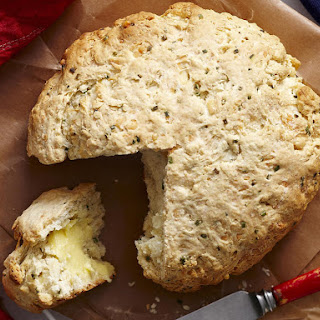 Cheese and Chive Damper (Australian Soda Bread)
