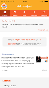 Midzomerfeest- screenshot thumbnail