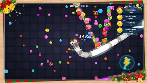 Code Triche Serpent aux bonbons APK MOD screenshots 3