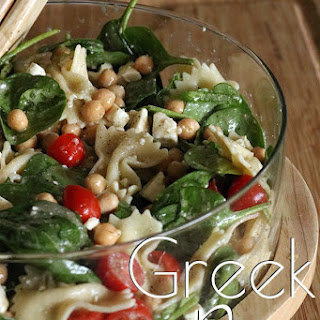Greek Isles Pasta Salad.