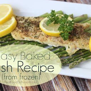 Easy Baked Frozen Fish.