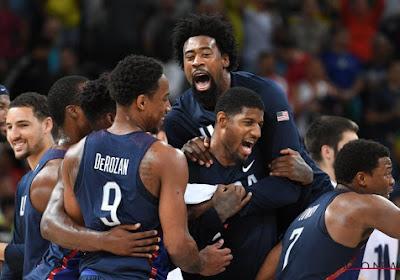 'Dream Team' van de Verenigde Staten pakt een derde goud op rij in basketbalfinale
