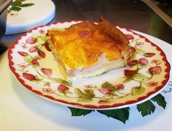 Ham & Cheese Breakfast Bake