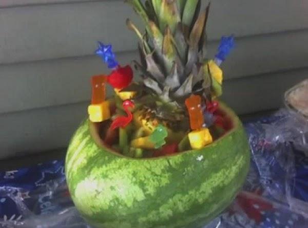 Watermelon Boat Recipe