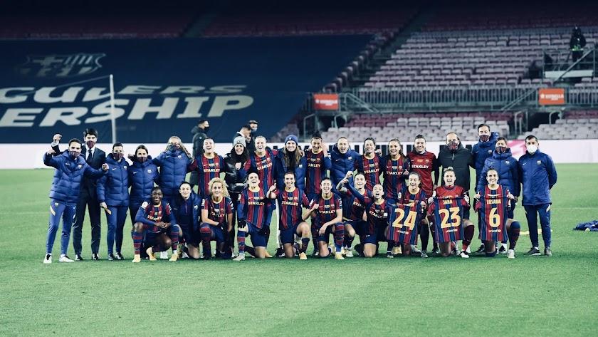 La plantilla del Barcelona que visitará el Estadio de los Juegos Mediterráneos.