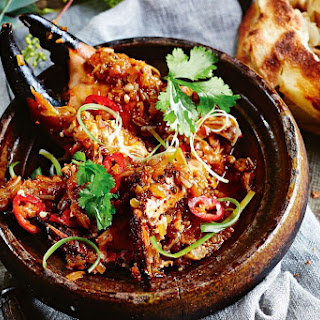 Jamie Oliver's chilli crab is your Friday night sorted.