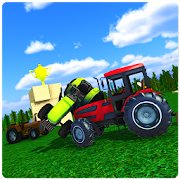 Toy Farming Tractor Battles 3D
