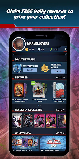 Marvel Collect! by Toppsu00ae Card Trader apktram screenshots 6