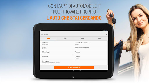 automobile.it: annunci di auto usate e auto nuove App (APK) scaricare gratis per Android/PC/Windows screenshot