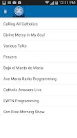 Screenshot of iCatholicRadio