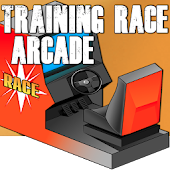 Training Race Arcade. Carrera  duelo de bólidos.