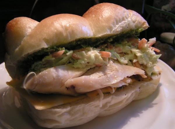 Classy Irish Lassy Chicken Sandwich W/spicy Slaw Recipe