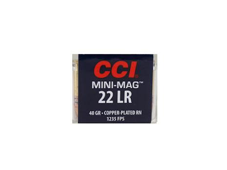 CCI 22lr MiniMag CPRN 40gr