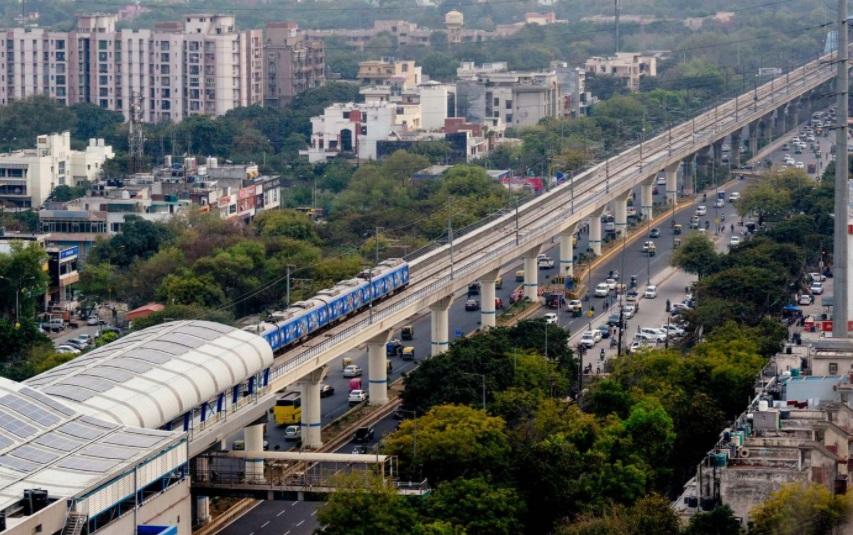 Cidade indiana realiza melhorias em seu sistema de transporte público. (Fonte: Arch Daily/Reprodução)