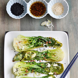 SPICY STEAMED BOK CHOY Recipe