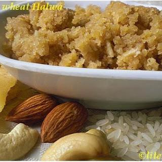 Healthy Wholewheat Dessert