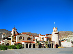 Photo: Scotty's castle in Death Valley