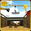 Bridge Builder Crane Underpass icon
