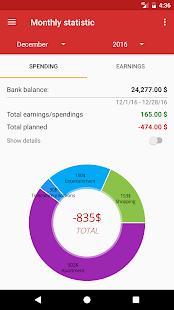 Budget Planner - náhled
