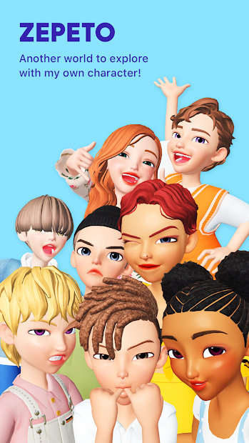 ZEPETO Android App Screenshot
