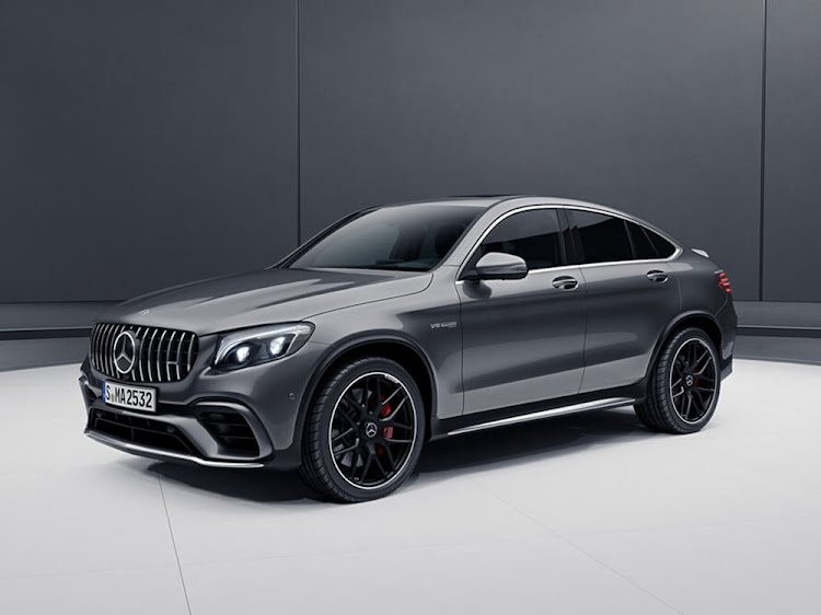 The Mercedes-Benz GLC 63 S Coupé. Pic: SUPPLIED