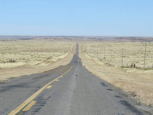Highway 325, Cimarron County, Boise City to Kenton