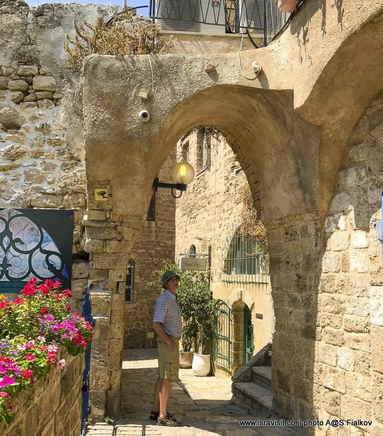 Экскурсия по чудесным улочкам Старого Яффа. Израиль.