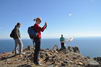 Photo: En haut de la première colline, l'ascension fut rude