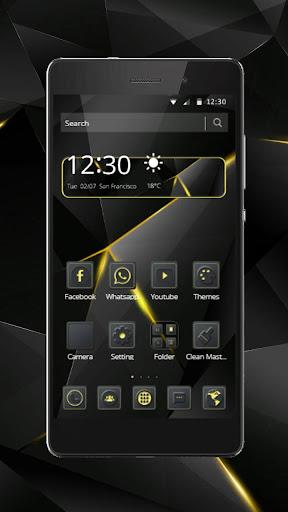 Black Luxury Theme for Huawei screenshot 10